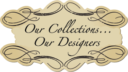 Our collections Our Designers sign